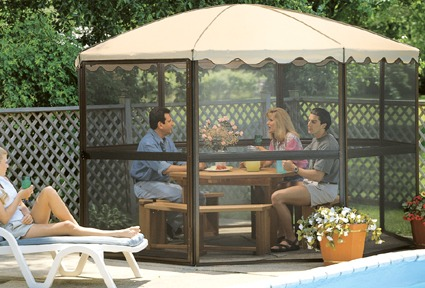 Casita Screen Rooms In Canada Freestanding Round Style