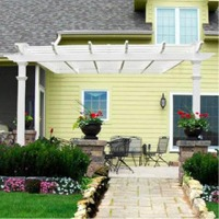 Freemont Pergola by New England Arbors