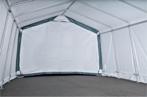 Peak Or Gable Style Car Shelters Shelter Logic Temporary