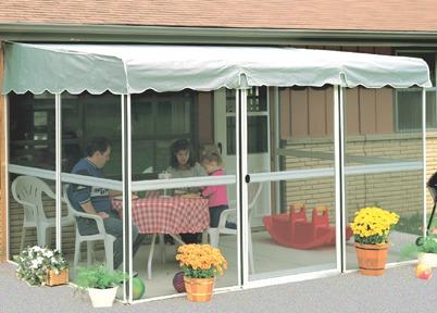 Ontario Deck Enclosure Kits Three Sided Patio Enclosures