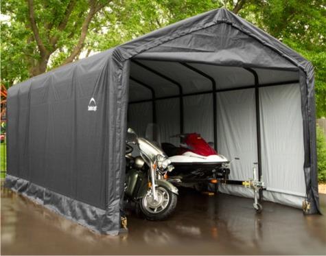 Shelter Logic Shelters   Heavy Duty Temporary Car Shelters ...