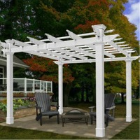 Mandalay Pergola by New England Arbors