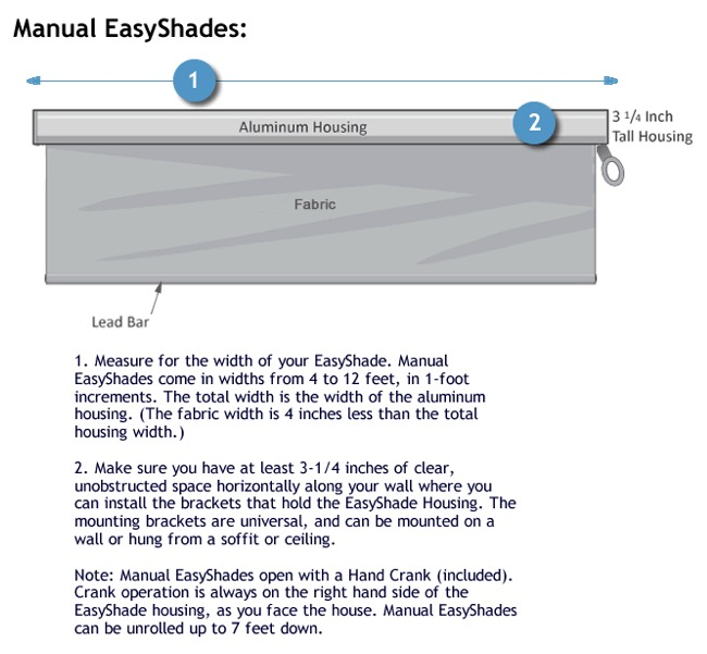 Measuring for the Manual EasyShade
