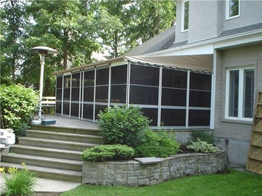 Home Attached Screenrooms Deck Enclosure Kits In Canada