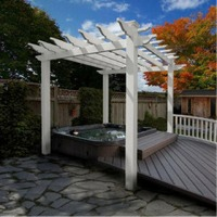 Portland Pergola by New England Arbors
