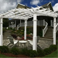 Riviera Pergola by New England Arbors