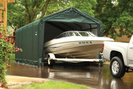 Shelter Logic Shelters | Heavy Duty Temporary Car Shelters ...