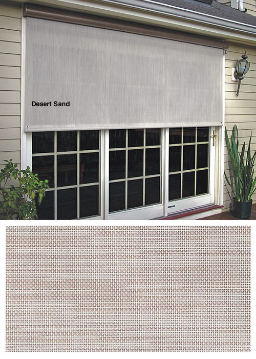 Solar Screens Manual And Motorized Vertical Shades