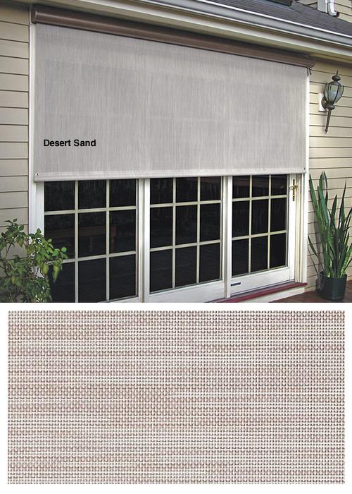 Solar Screens Manual And Motorized Vertical Shades