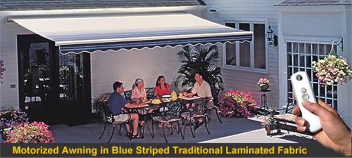 Sunsetter Motorized Awnings Retractable Patio And Deck