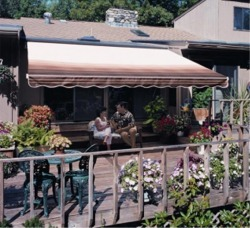 Retractable Patio Awnings | Sunsetter Patio Covers | Vinyl ...