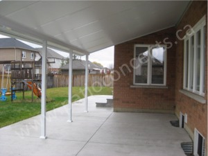 With 3 Thicknesses Of Polystyrene Core Insulated Aluminum Panels, These  Patio Cover / Carport Kits Can Accommodate Most Snow Loading Requirements.