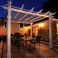 Tuscany Pergola by New England Arbors