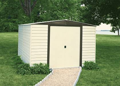 Vinyl Coated Dallas Steel Shed