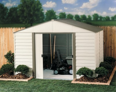 Garden Sheds Canada arrow sheds in canada |lawn and garden metal sheds | milford metal