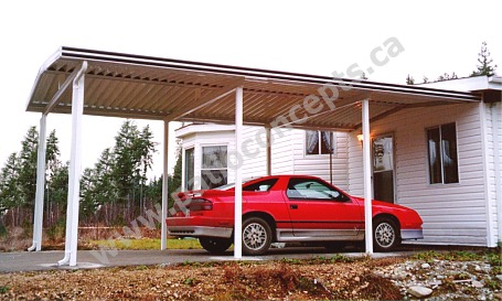 Aluminum Patio Covers | W Pan Deck Awnings and Carports ...