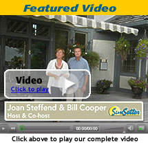 Click to play the SunSetter Awnings Video