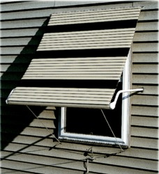 Futureguard Series 5500 Roll Up Aluminum Window Awnings In Canada