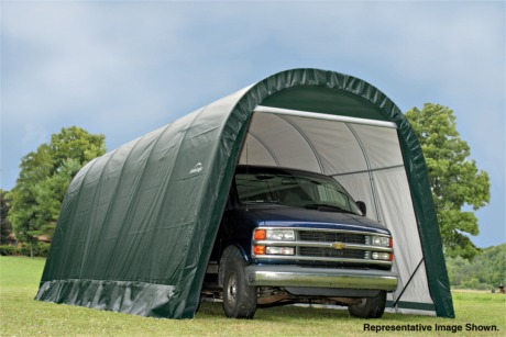 Dome or Round Style Car Shelters | Shelter Logic Temporary ...