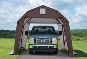 SHELTER LOGIC Portable Garage Shelters | Car Shelters ...