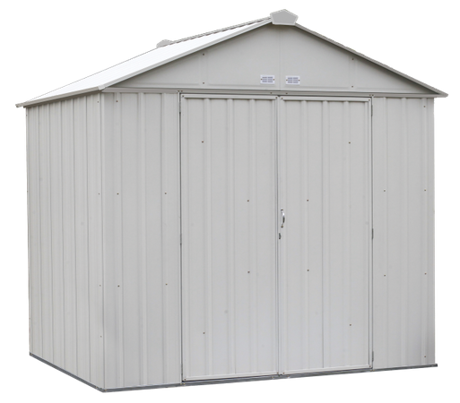 8x7 EZEE Shed in Cream