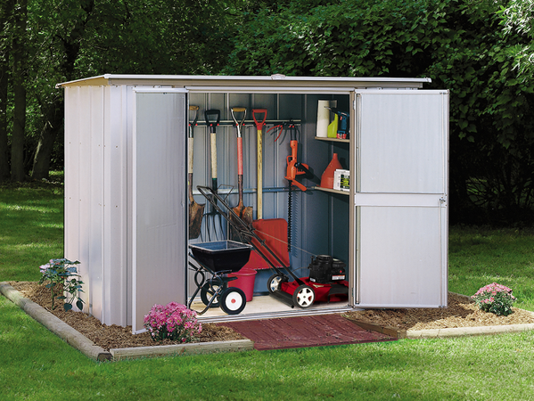 Economical Garden Shed Perfect For Yard Essentials, Gardening Tools And  More. Simple And Efficient, Works Well Free Standing Or Against A Wall.
