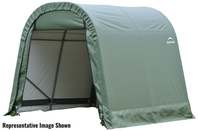 10x8x8 Round Shelter Green Colour