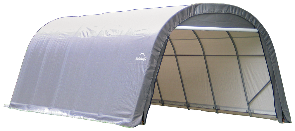 12x20x8 Round Shelter Grey Colour