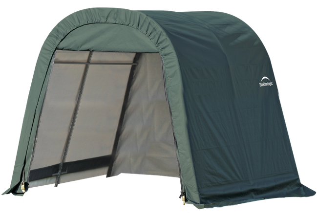 8x8x8 Round Shelter Green Colour