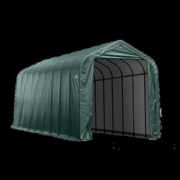 Peak or Gable Style Car Shelters | Shelter Logic Temporary ...