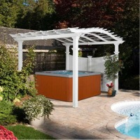 Bellagio Pergola by New England Arbors