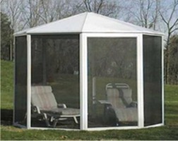 Free Standing Screen Room Kits Octagonal And Round
