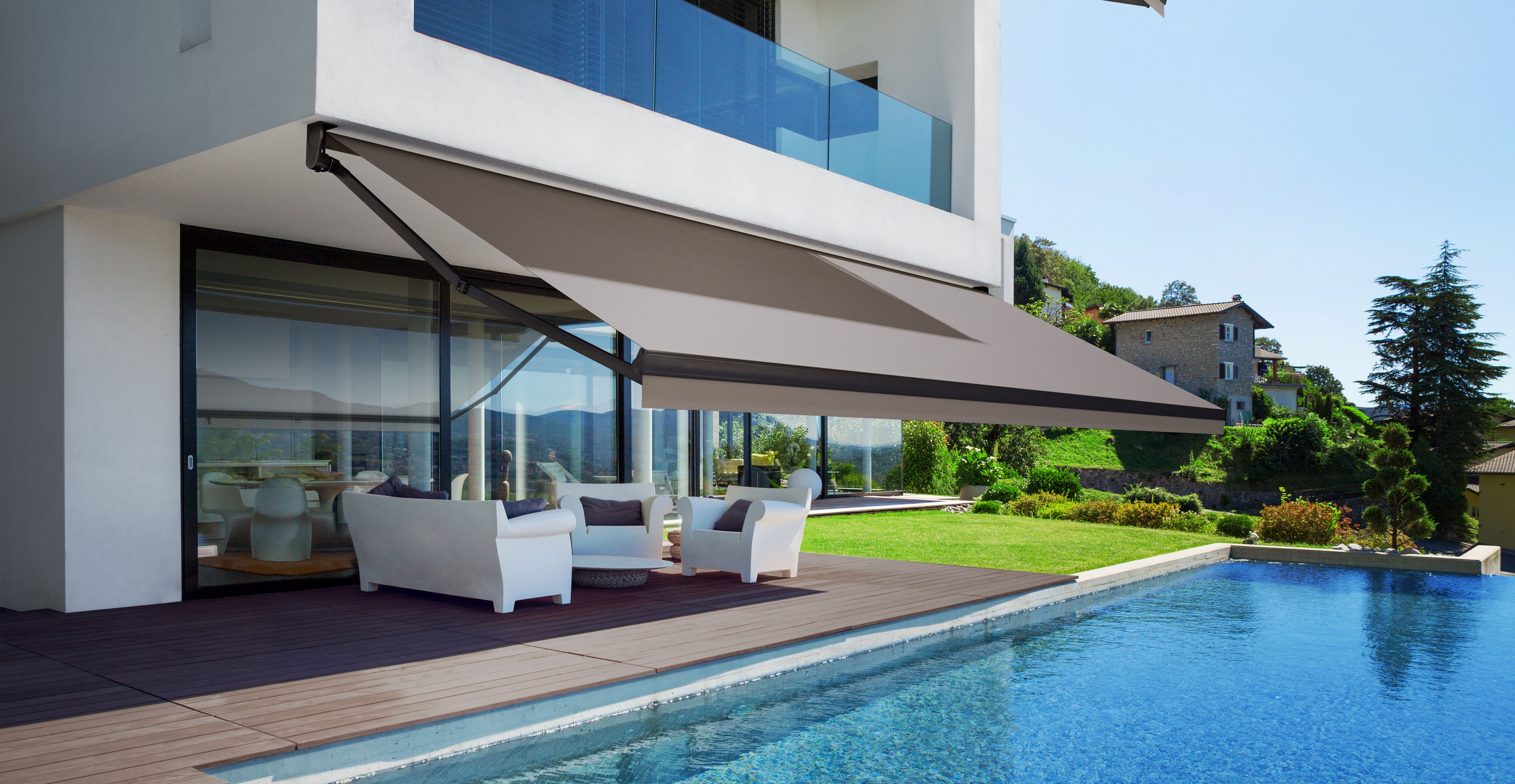 new concept f0245 35f1e Retractable Awnings and Canopies | Manual and Motorized ...