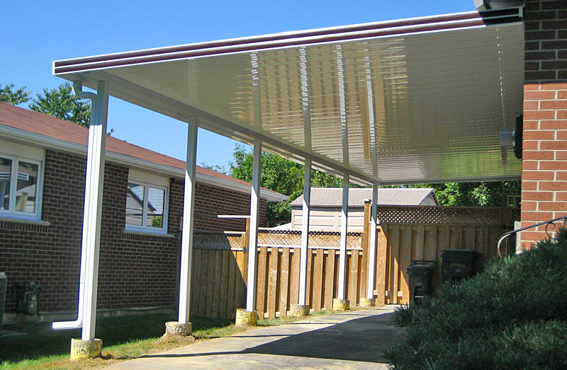 Patio Covers and Deck Awnings | Aluminum Awnings | Retractable ...