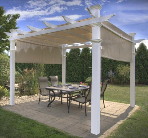 Vinyl Pergolas U0026 Backyard Shade Structures