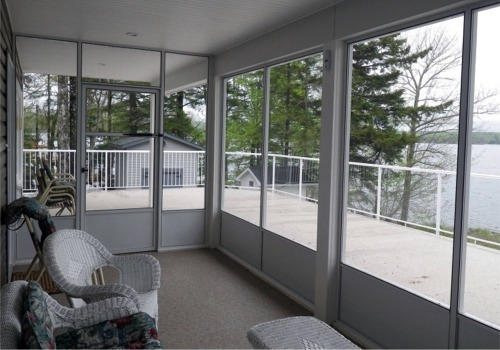 Porch screening kits screen enclosure systems screened walls screen rooms permanent and semi permanent installations solutioingenieria Image collections