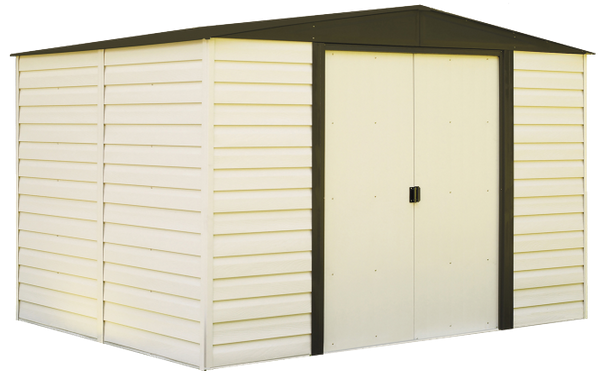 Vinyl Dallas VD1012 and VD108 Arrow Sheds in Canada |Lawn and Garden