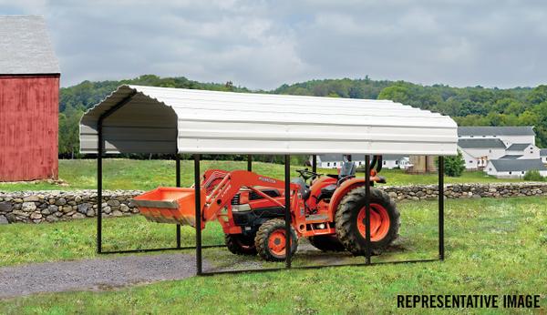 All Steel DIY Carport | Arrow Steel Carport and Patio Cover | Patio