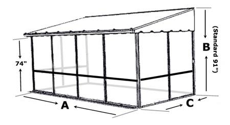 Trailer Deck Enclosure System Trailer Mounted Screen